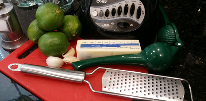 lime butter sauce ingredients