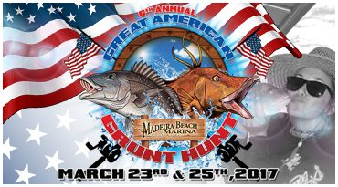 madeira beach grunt hunt fishing tournament