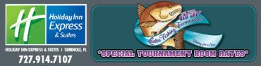 fish the ladies tournament and stay at the holiday inn express