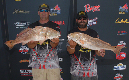 catching redfish on tampa bay