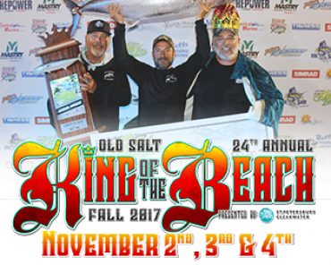 24th annual king of the beach kingfish tournament