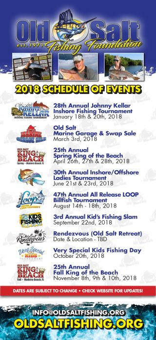 Print the Old Salt 2017 schedule