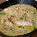 Mangrove Snapper in Green Curry Cream