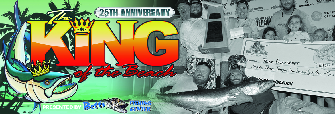 25th Annual Old Salt Spring King of the Beach Fishing Tournament