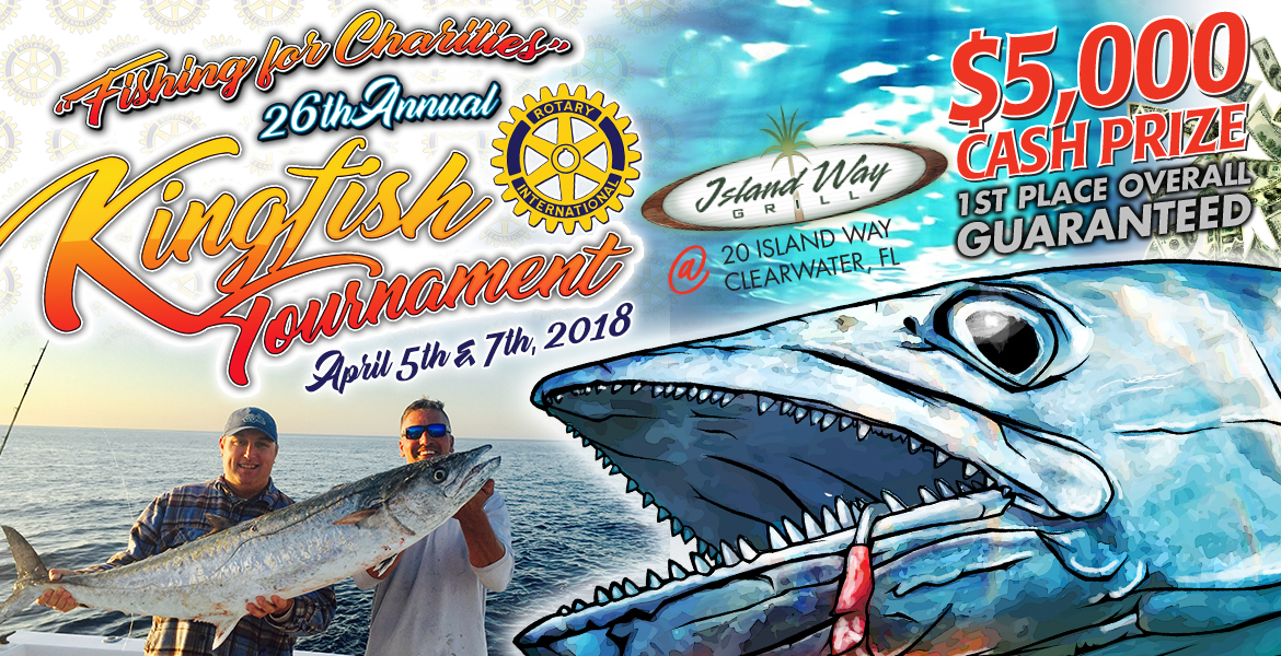 Rotary club of clearwater kingfish tournament old salt for Old salt fishing