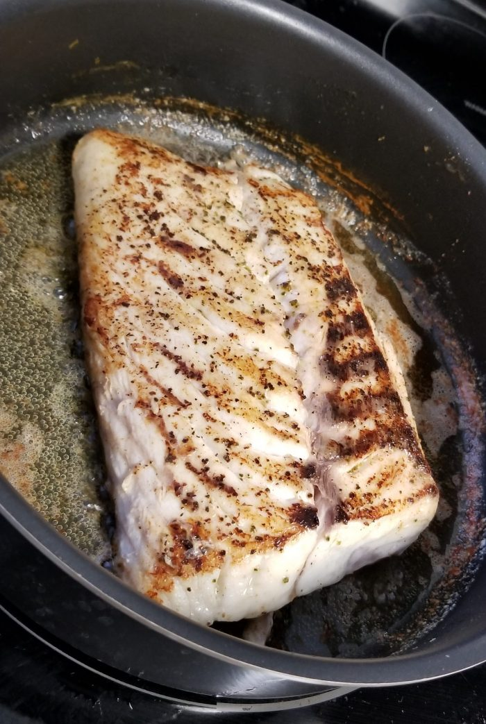 cooking red snapper in butter