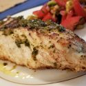 Red Snapper with Ancho Vinegar Brown Butter Sauce
