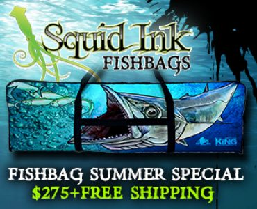 Squid Ink Threads Custom Fish Bags