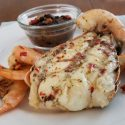Grilled Florida Lobster & Shrimp w/Spicy Key Lime Butter