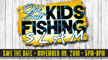 let your kids fish the Old Salt Kids Fishing Slam