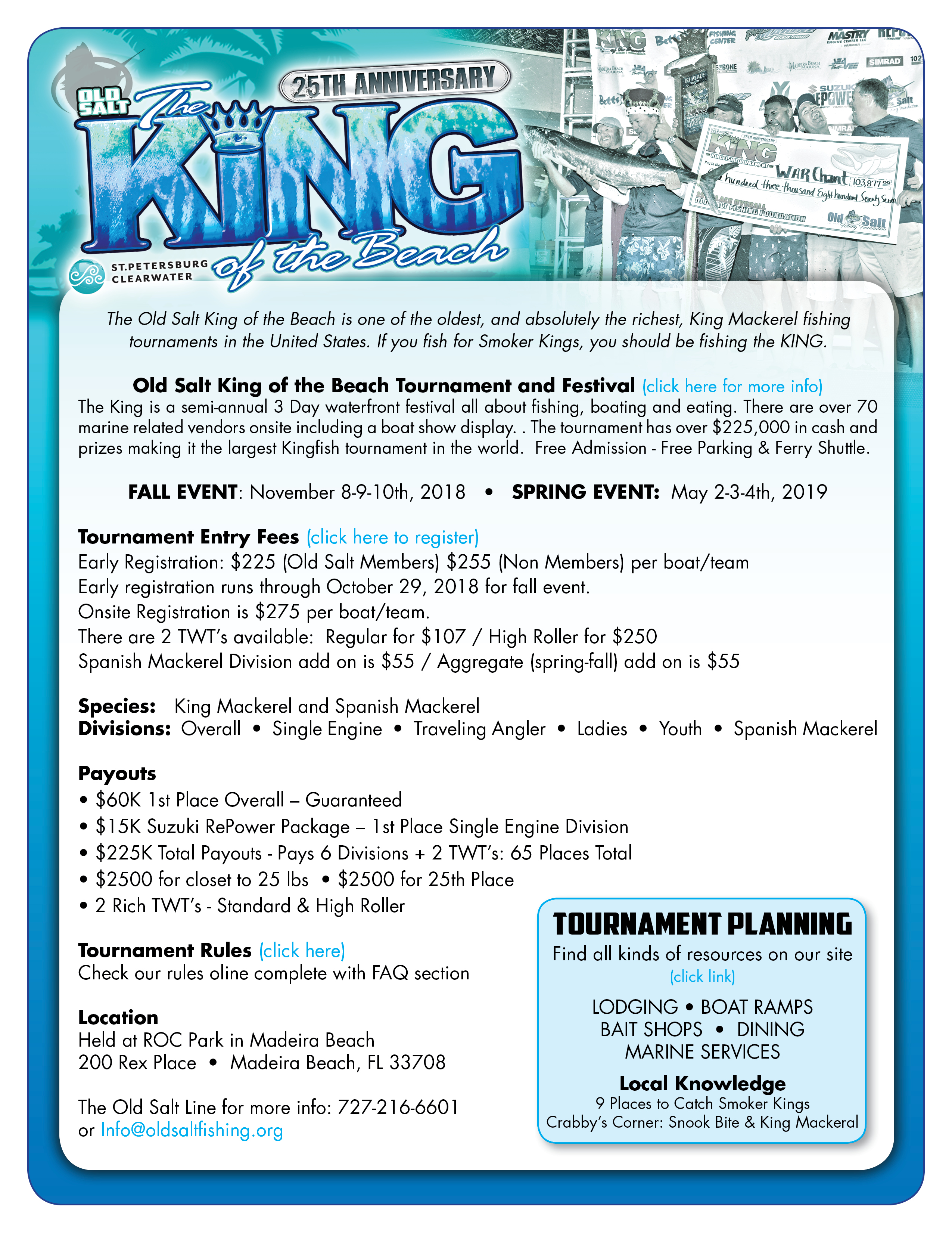 fishing tournament resources