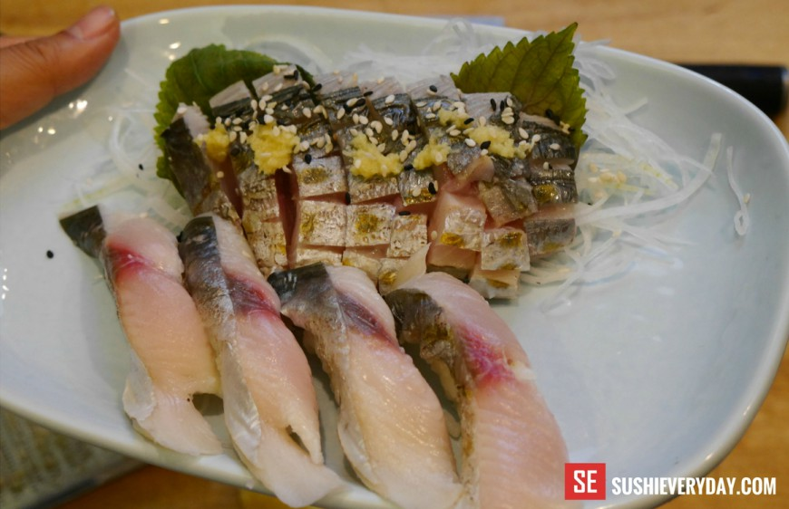 Spanish Mackerel Sushi