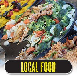 Sample great beach food from local restaurants