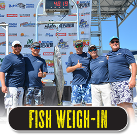 fishng tournament weigh-in and awards