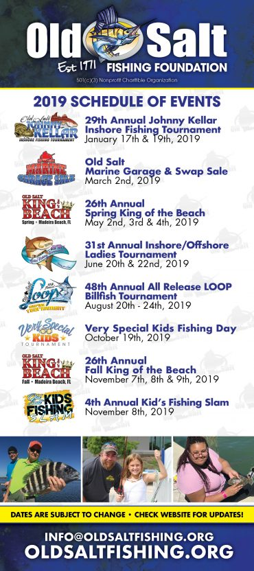 fishing tournaments and events