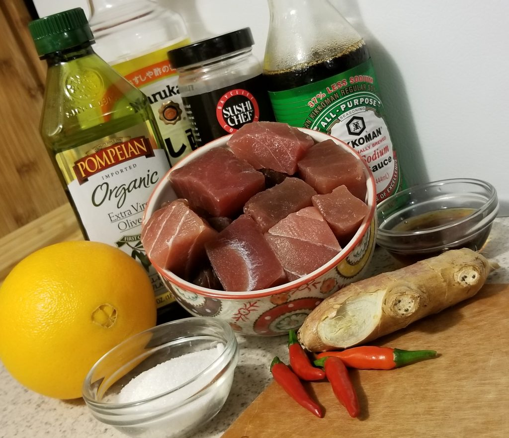 Yellowfin Tuna Nuggets Ingredients