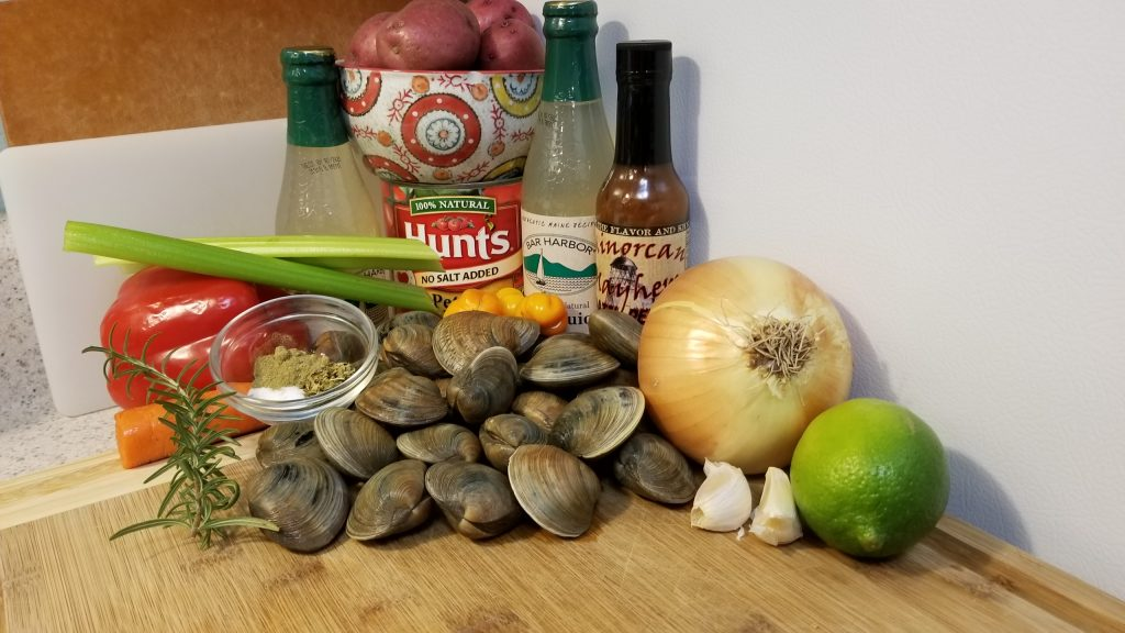 minorcan clam chowder ingredients