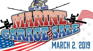 fishing and marine garage sale