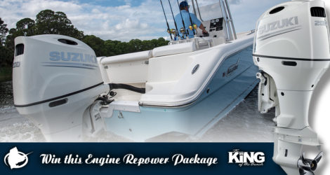 Win a 2019 Suzuki Outboard Engine
