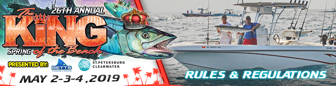 fishing tournament rules