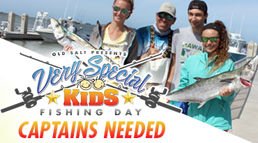 Old Salt Takes Special Needs Kids Fishing