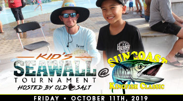 Old salt and Suncoast Kingfish Classic team up to get kids fishing