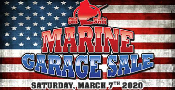 Marine garage sale