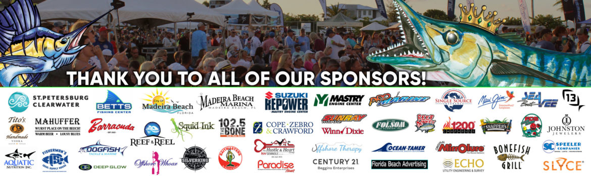 sponsors for the King of the Beach