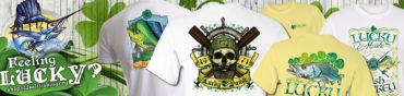 st. patricks day fishing t-shirts