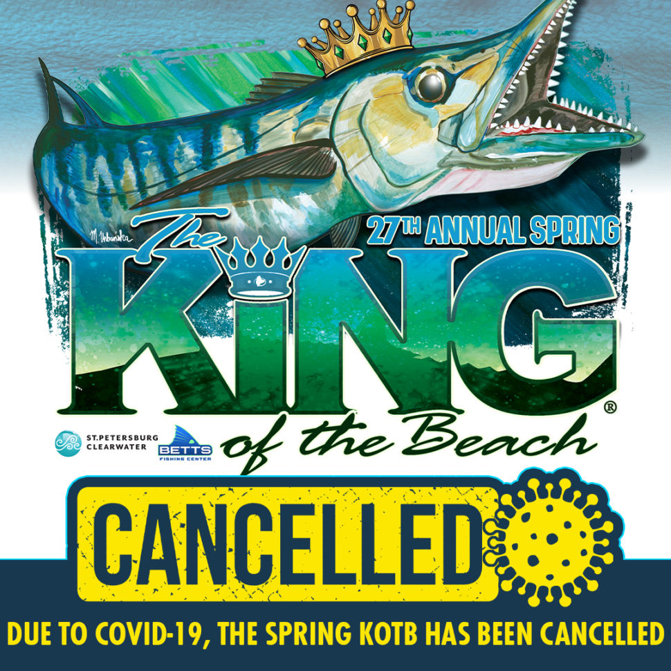 kingfish tournament canceled - Covid 19