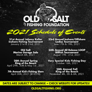 Print the Old Salt 2020 schedule