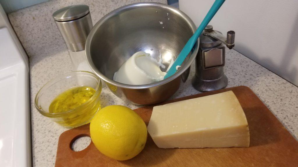 lemon ricotta sauce
