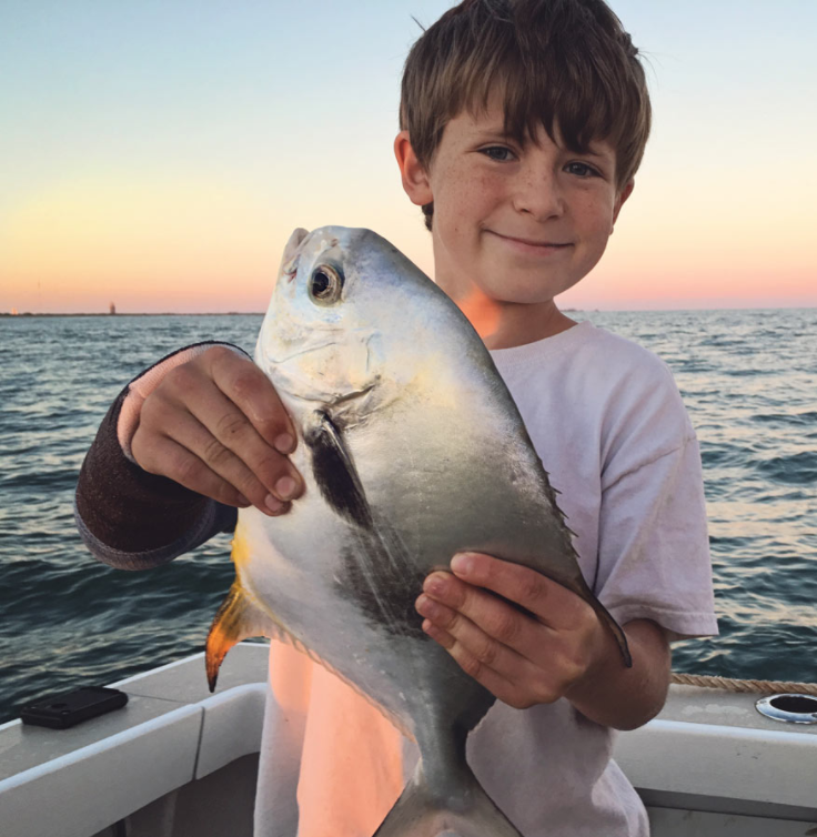 Nearshore fishing for Permit