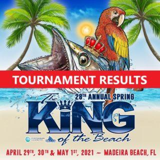 king of the beach fishing tournament