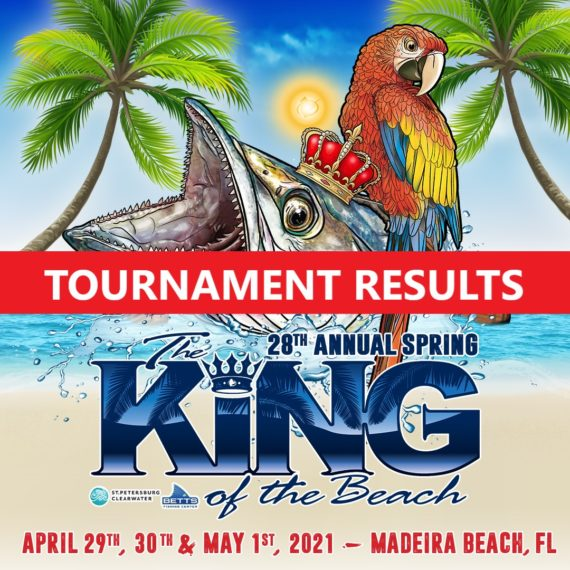 king of the beach fishing tournament